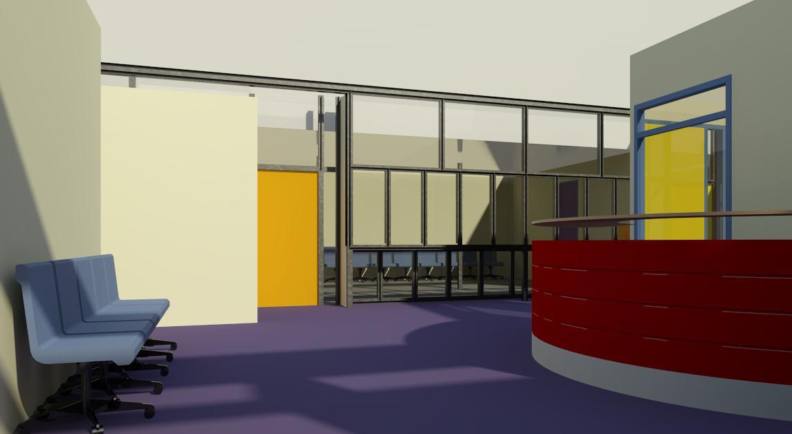 3D interieur Centrum voor Jeugd en Gezin, Stadhuis