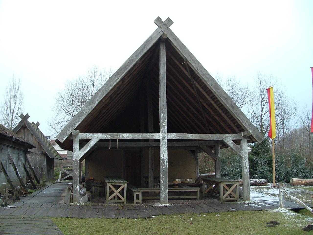 Werkplaats in de Karolingische tijd