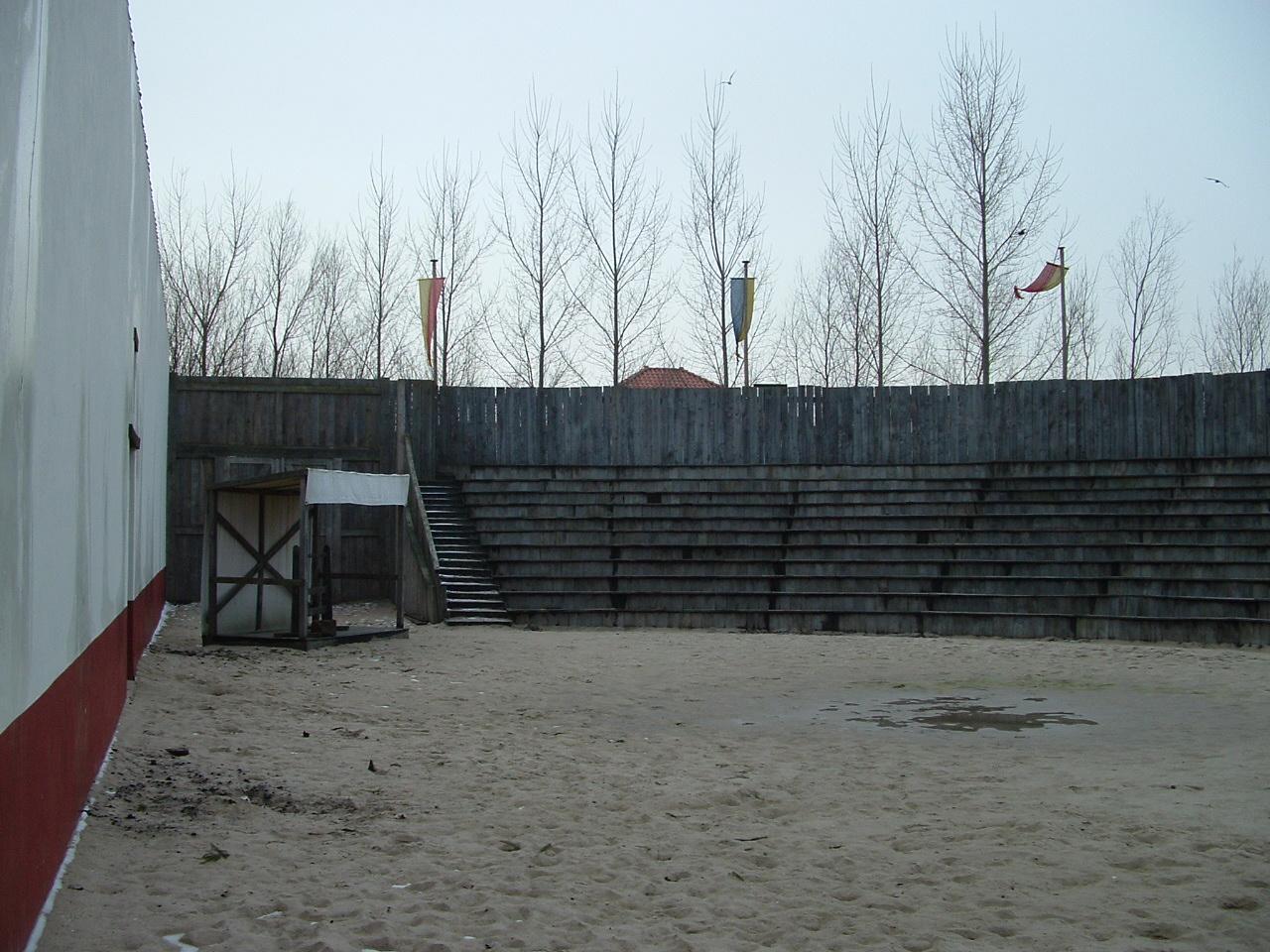 vergroting Romeinse arena
