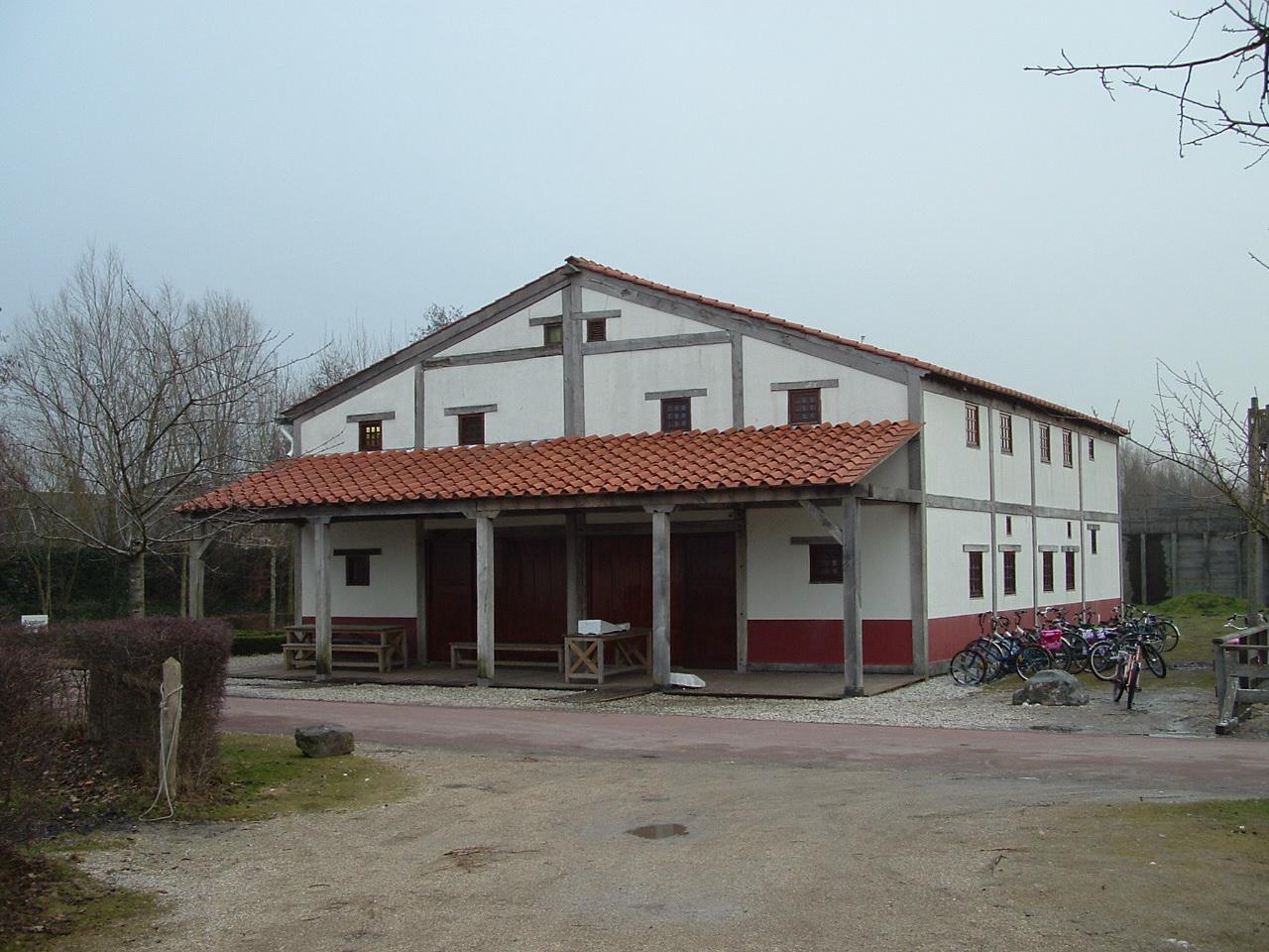 Uitbreiding Domus (Romeins huis) met logeervoorziening voor groepen