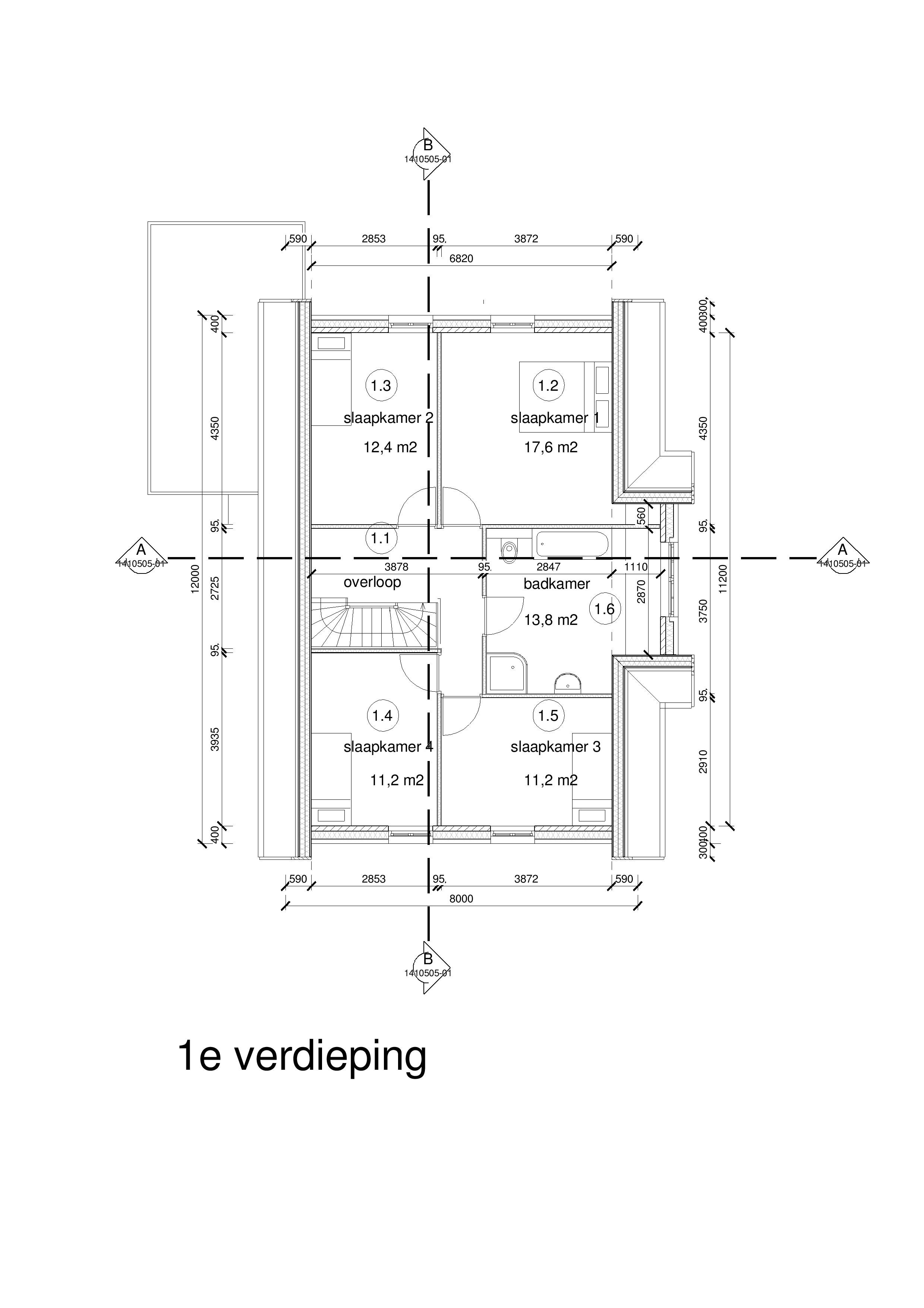 140505-variant-a2-geheel-lichtgrijs-1e-verdieping_2-001